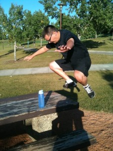 Picnic Table jumps