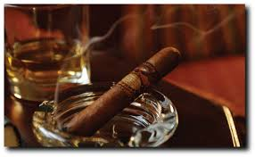 Cigar and Scotch